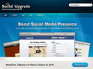 social upgrade facebook twitter youtube